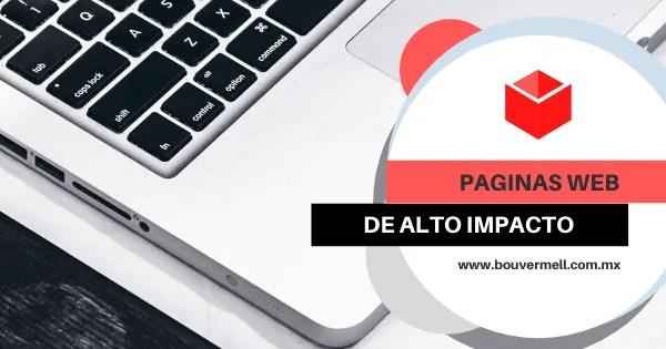 Paginas Web de Alto Impacto