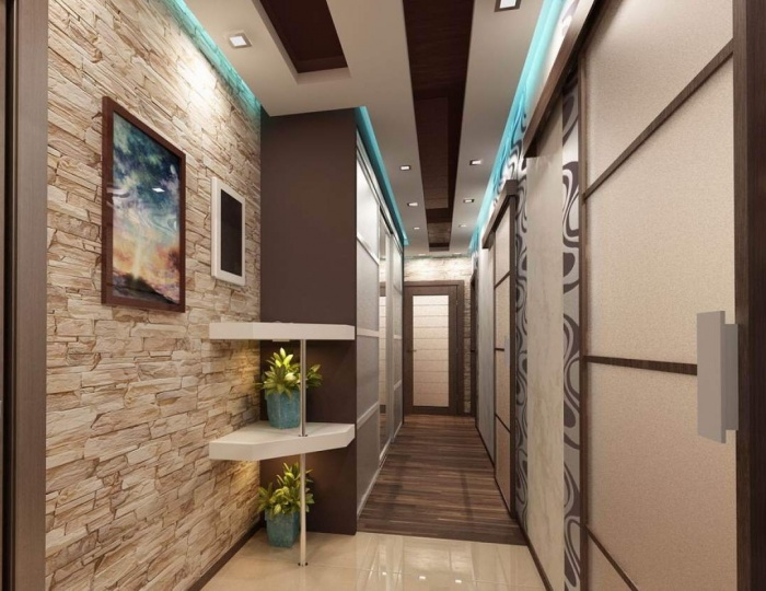 коридор дизайн фото в квартире 1