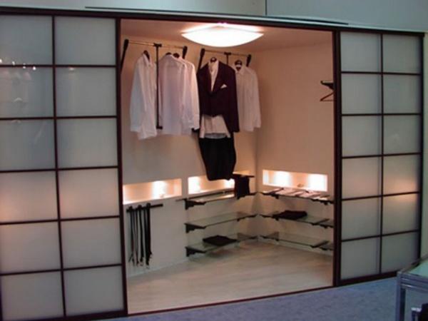 гардеробные комнаты дизайн проекты 7
