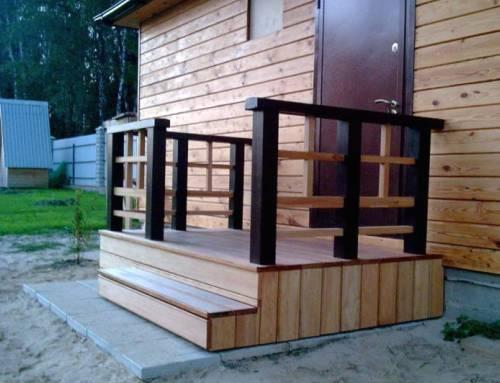 Крыльцо для частного дома своими руками, фото, дизайн ...