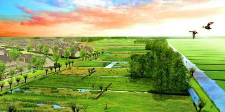Nieuw natuur- en recreatiegebied in Westergouwe