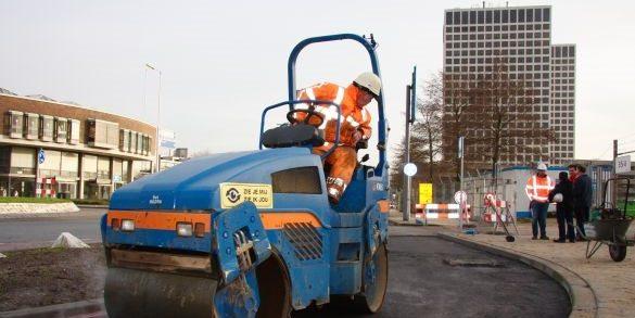 Primeur met gerecycled asfalt
