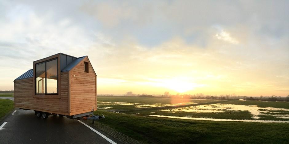 Tiny House bezig aan opmars ©Woningpioniers