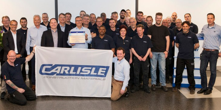 COS Award voor Carlisle Construction Materials BV