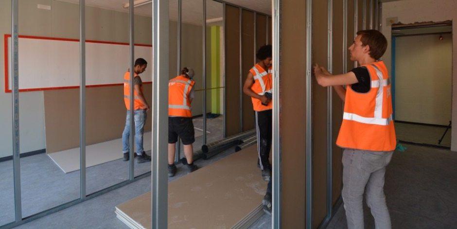 Studenten bouwen eigen Stadsoase in Utrecht