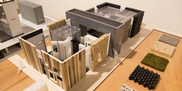 Nieuw bouwsysteem laat asielzoekers eigen huis in elkaar zetten