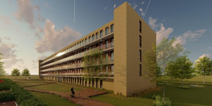 Bouw 48 duurzame appartementen in Voorburg gestart