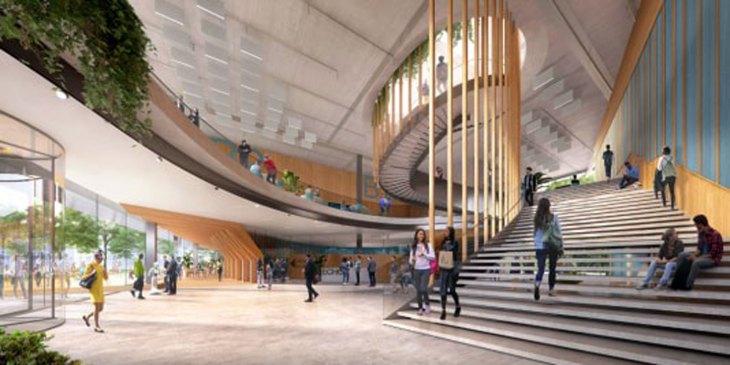 TU Delft krijgt Echo, een energieleverend onderwijsgebouw