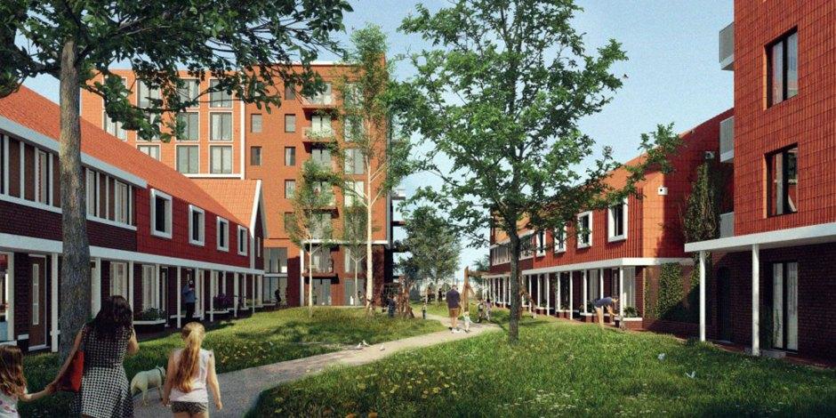 Woningbouw op voormalig SIZO terrein Hillegom
