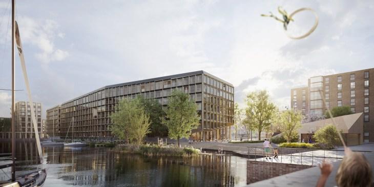 Project - Jonas ligt straks in de haven van IJburg