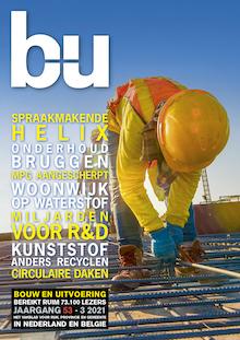 Cover magazine Bouw en Uitvoering 3-2021