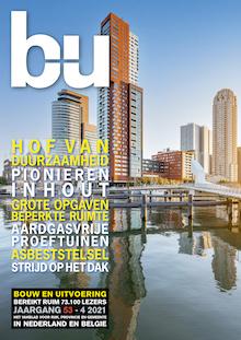 Cover magazine Bouw en Uitvoering 4-2021
