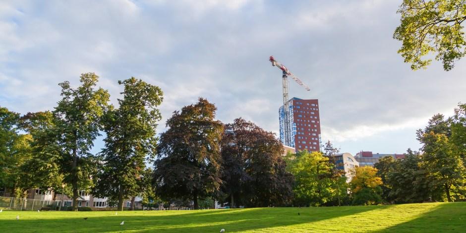 Woningen en kantoren in Arnhemse wijk Vredenburg/Kronenburg in 2023 aardgasvrij