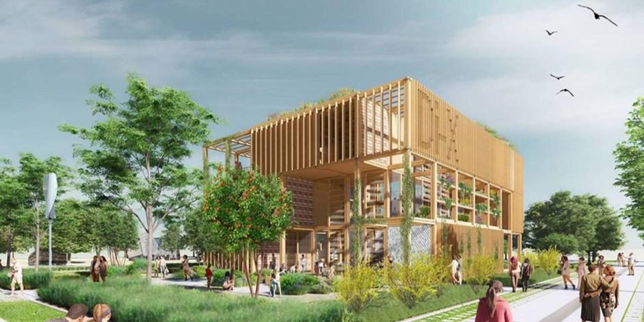 Project: Rijksoverheidspaviljoen voor de Floriade Expo 2022