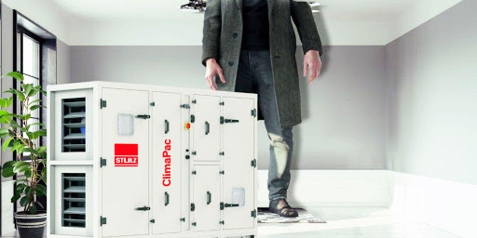 ClimaPac luchtbehandelingskasten, compact formaat en hoge prestaties