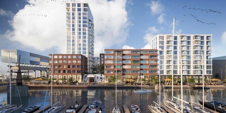 Start bouw Nautisch NDSM in Amsterdam