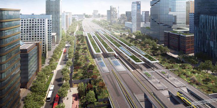Zuidasdok - Openbaar Vervoerterminal Amsterdam Zuid