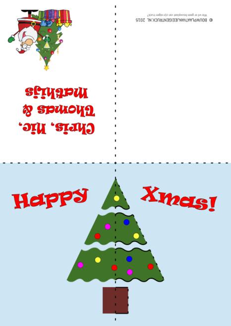 Bouwplaatvanjeeigentruck_Pop-Up Christmas Card_1