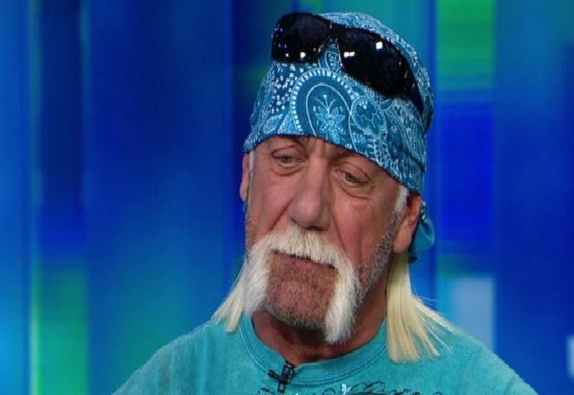 Hulk Hogan sad