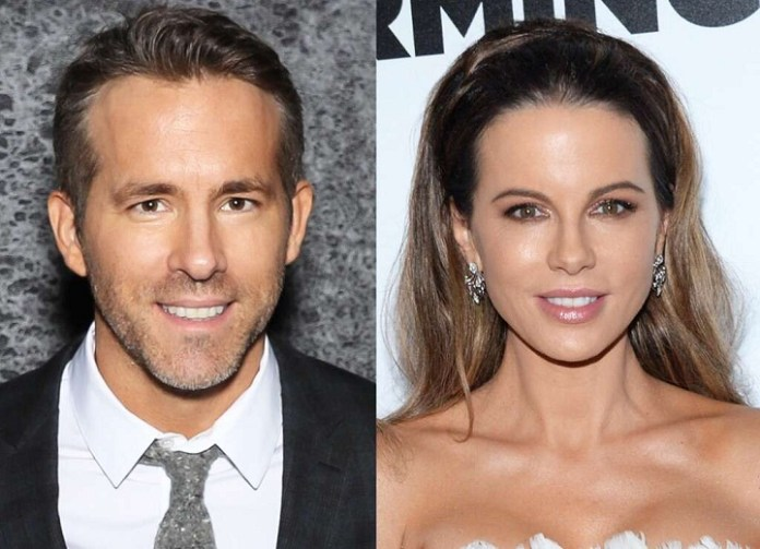 Kate Beckinsale looks exactly like Ryan Reynolds