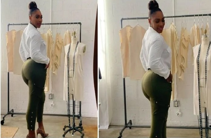Serena Williams just proved she is got some of the fiercest curves
