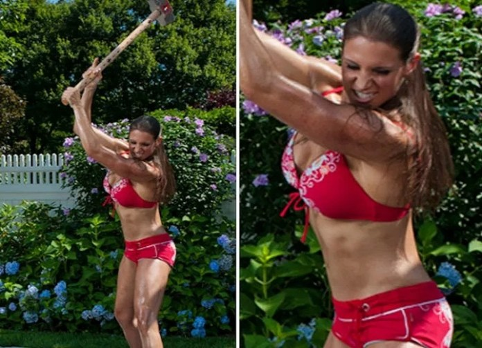 Stephanie McMahon is a sexy woman and any man would like to be with her
