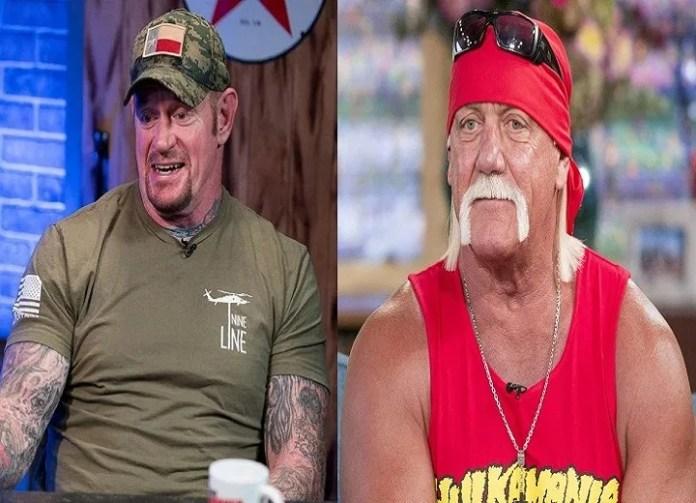The Undertaker and Hulk Hogan