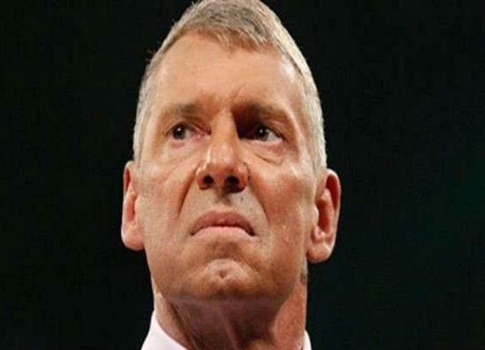Vince McMahon very angry