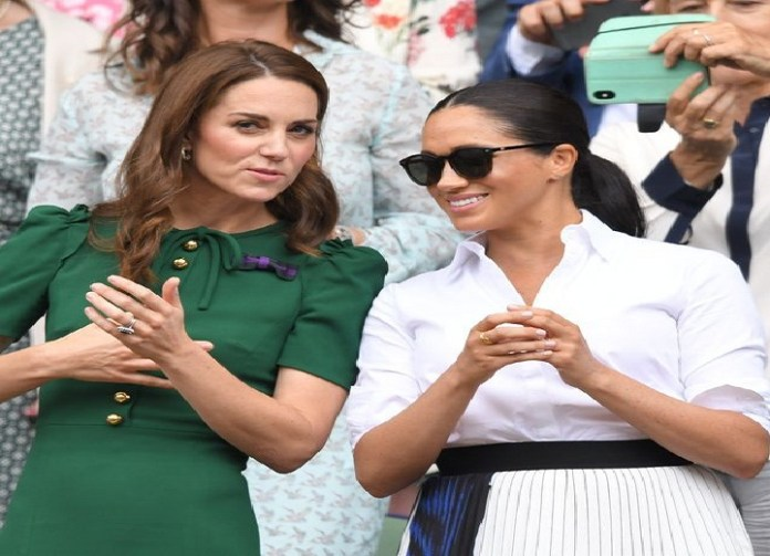 """Why Meghan Markle and Kate Middleton Haven't Spoken """"Directly"""" In Over a Year"""