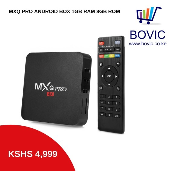 MXQ PRO ANDROID BOX 1GB 8GB QUADCORE BOVIC ENTERPRISES