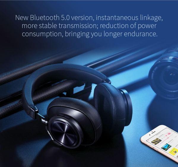 Bluedio T7+ Bluetooth Headphones Bovic