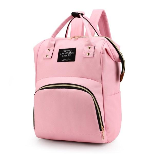 Mum Diaper Bag Pink