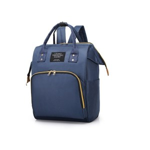 Mum Travel Antitheft Diaper Bag Blue 2