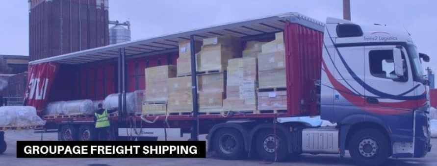 Groupage shipping to Nigeria