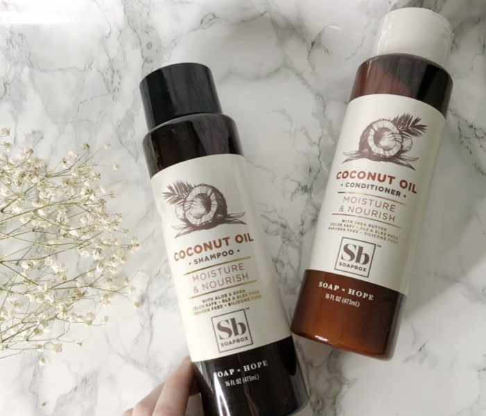 Soapbox Shampoo and Conditioner- Review