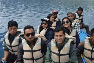 Boating Rara Lake