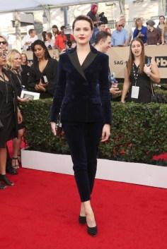 Mandatory Credit: Photo by MediaPunch/REX/Shutterstock (8137709p) Evan Rachel Wood The 23rd Annual Screen Actors Guild Awards, Arrivals, Los Angeles, USA - 29 Jan 2017 WEARING ALTUZARRA
