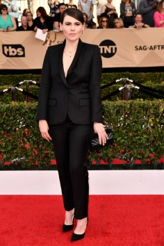 Mandatory Credit: Photo by Rob Latour/REX/Shutterstock (8137126dg) Clea DuVall The 23rd Annual Screen Actors Guild Awards, Arrivals, Los Angeles, USA - 29 Jan 2017