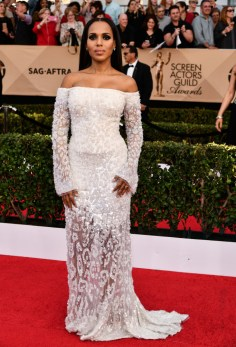 Mandatory Credit: Photo by Rob Latour/REX/Shutterstock (8137126ey) Kerry Washington The 23rd Annual Screen Actors Guild Awards, Arrivals, Los Angeles, USA - 29 Jan 2017