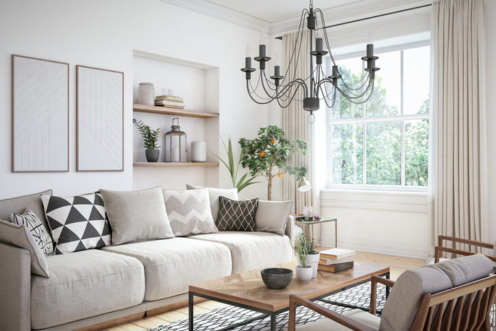 45 white living room decor ideas