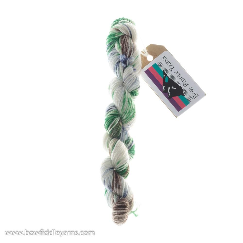 Bow Fiddle Yarns Merino and Nylon - Plaid 20g - 4ply yarn