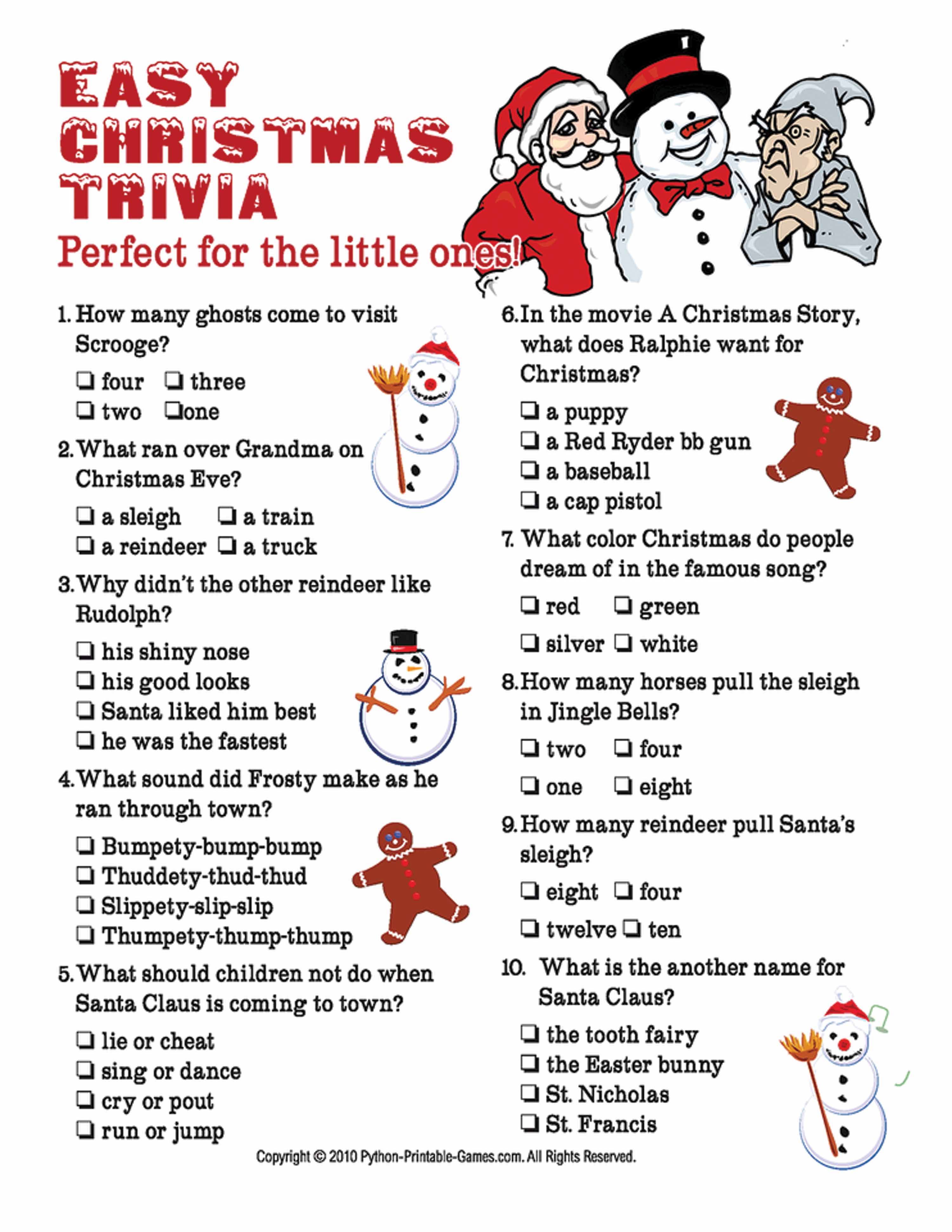 Download Trivia Games About Christmas