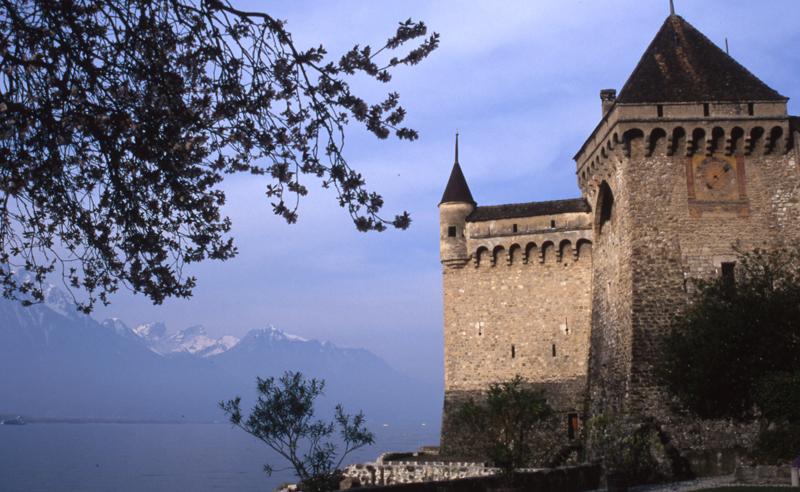 Chateau de Chillon-Montreux, Switzerland