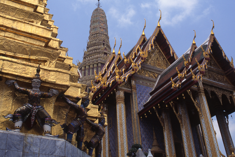 Grand Palace & Wat Phra Kaeo-Bangkok, Thailand