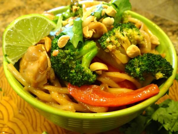 Noodley Thai Bowl