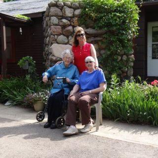 Grandma, Mom & I