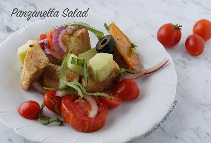 Celebrate summer veggies with Panzanella Salad