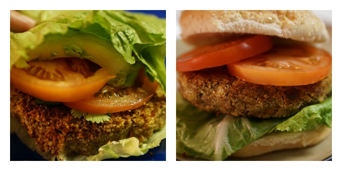 For a Gluten free option wrap the burger in lettuce.