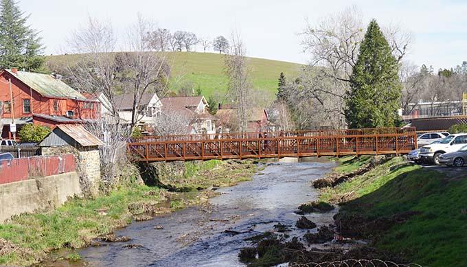 Sutter Creek Walking Bridge