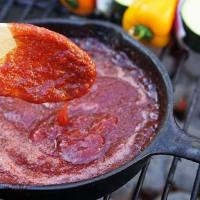 Homemade Plum BBQ Sauce